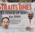 NST 1st Jan 2009 Article